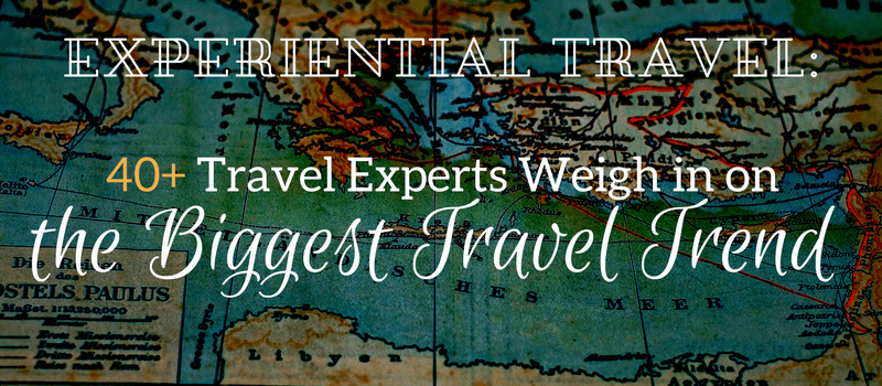 Experiential travel