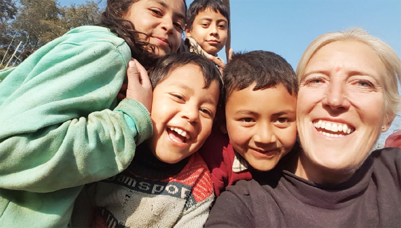 olunteer opportunities abroad holiday nepal kathmandu construction building agriculture farm teaching children school women empowerment community development