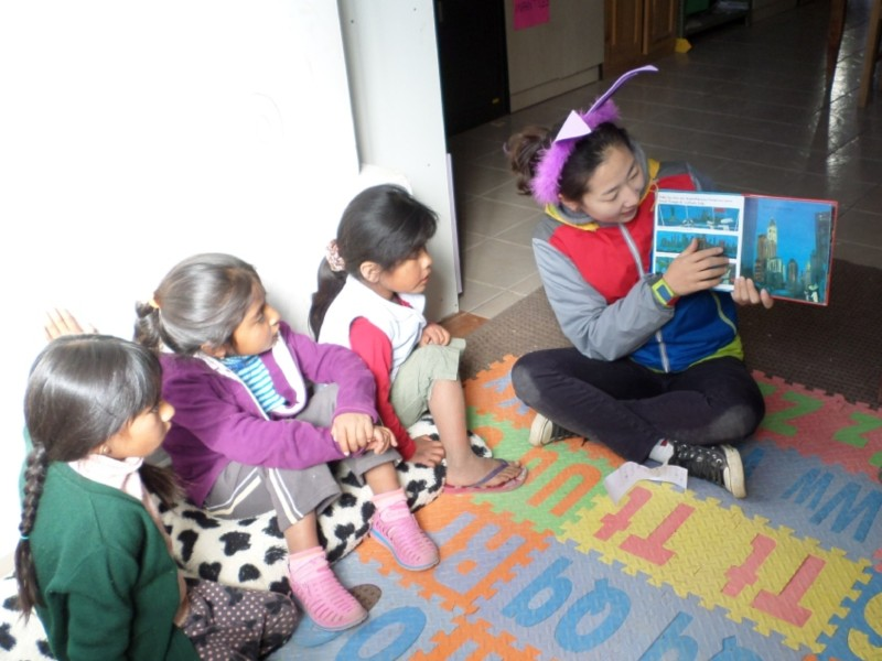 volunteer opportunities abroad holiday bolivia south america education teaching kids children childcare women empowerment